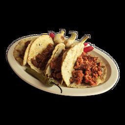 Orden Tacos Chorizo