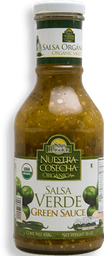 Salsa San Miguel Verde Orgánica 450 g