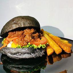 Blackburger con Mermelada de Tocino
