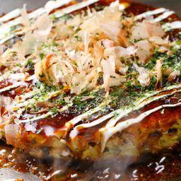 Okonomiyako de Mariscos