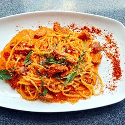 Spaghetti a la Arrabita