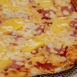 Pizza Grande Hawaiana y Pepsi 2 L