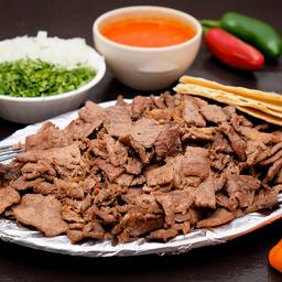Kilo de Carne, Cebollitas y Nopales