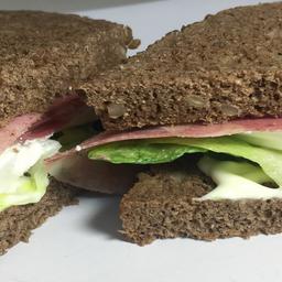 Sándwich de Centeno con Jamón