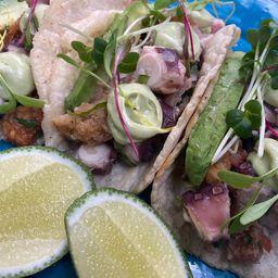 Tacos de Pulpo y Castacan