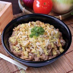 Gyudon Queso y Mayonesa Wasabi