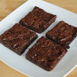 Caja con Cuatro Brownies