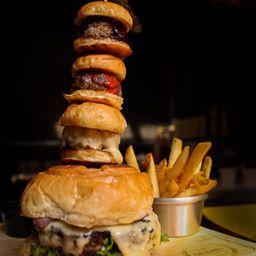 Triple Baby Burger