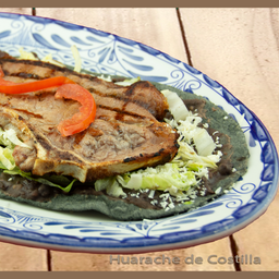Mega Huarache Natural con Frijoles