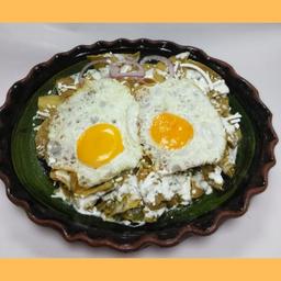 Chilaquiles con Proteina