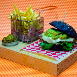 Arrachera Burger