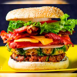 Hamburguesa burger home