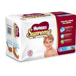 Huggies supreme Pañales p  niño Etapa 6