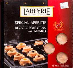 Bloc de Foie Labeyrie de Canard 90 g