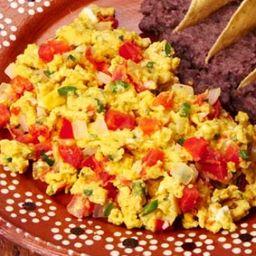 Huevos a la Mexicana No Picosos