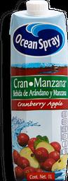 Jugo Ocean Spray Arándano Y Manzana Tetrapack 1 L