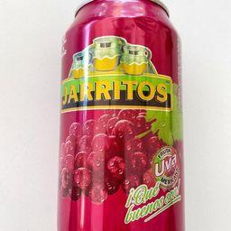 Jarrito de Lata Sabor Uva 355 ml