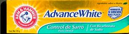 Pasta Dental Advance White Control de Sarro 121 g