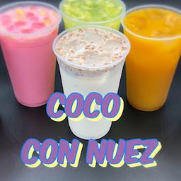 Agua de Coco con Nuez