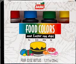 Colorante Vegetal Badia Para Alimentos 4 U