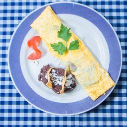 Omelette Pollo