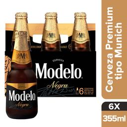 Negra Modelo Cerveza Premium Botella Six Pack