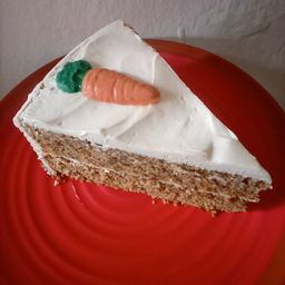 Pastel de Zanahoria.
