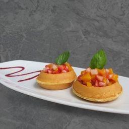 Mini Waffles Primavera