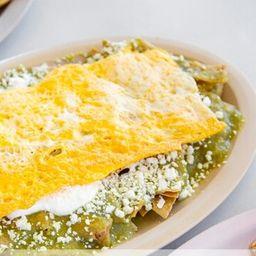 Chilaquil con Huevo
