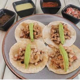 Tacos de Pechuga de Pollo