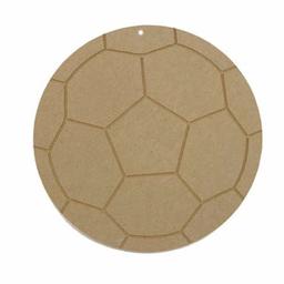 Balón Futbol 23 cm Madera