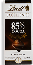 Chocolate Lindt Excellence Extra Oscuro 85% Cocoa 100 g