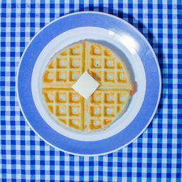 Waffle con Lechera