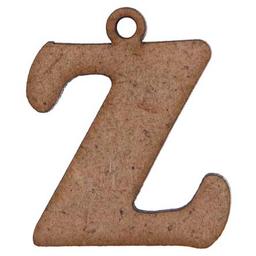 Letras Con Argolla 3.5 cm 2 U Z