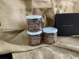 Almendras Cubiertas Con Chocolate y Cocoa