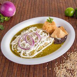 Av. La Directa Enchiladas Verdes