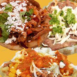 Huaraches de Masa de Maiz