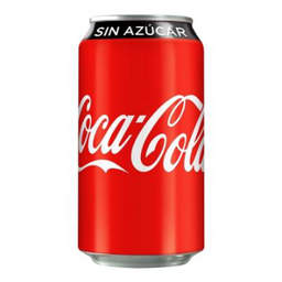 Refresco Coca-Cola sin azucar