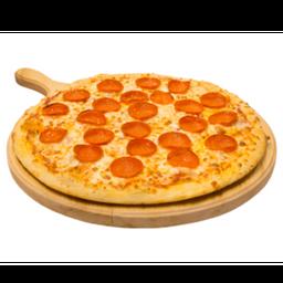 Pizza monstruo de pepperoni
