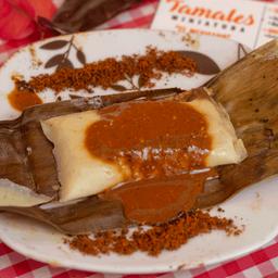 Tamal Oaxaqueño Mini Mole con Pollo