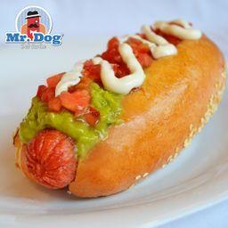 Mushrooms Hot Dog