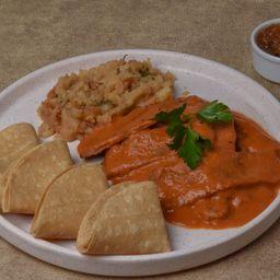 Tacos de Milanesa de Res Al Chipotle