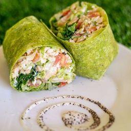 Wrap Mío Amore (Tortillas de Espinaca)
