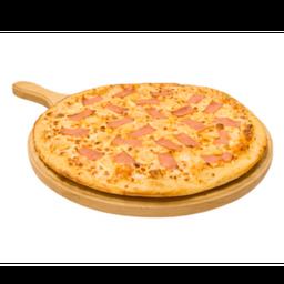 Pizza monstruo hawaiana