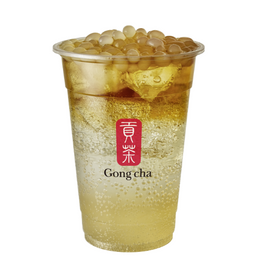 Sparkling Lichi Oolong Tea Con Tapioca De Lichi