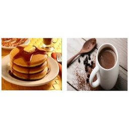 Combo Hot Cakes con Chocolate