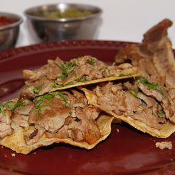 Orden de 3 Tacos de T-Bone