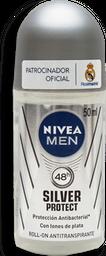 Antitranspirante Nivea Men Silver Protect Antibacterial 50 mL