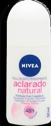 Desodorante Nivean Aclarado Natural Para Dama 50 mL