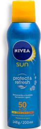 Protector Solar Nivea Sun Protect & Refresh Fps50 200 mL